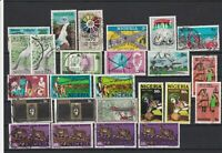 Nigeria Stamps some Different Shades Ref 24995