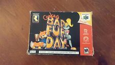 Conker's bad fur day n64 Complete Free Shipping