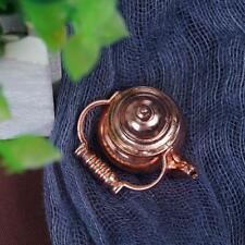 1:12 Scale Dollhouse Miniature Furniture Home Kitchen Kettle Copper Ornamen SPO