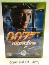 JAMES BOND 007 NIGHTFIRE (XBOX) VIDEOGIOCO NUOVO SIGILLATO - NEW PAL VERSION