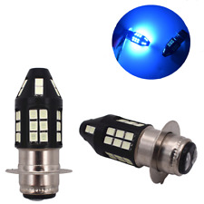 100W 5-sided Ice Blue H6M P15D 2835 40SMD LED Headlight Bulbs for Car Motorcycle