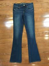 Womens Size 0 American Eagle Outfitters Jeans Skinny Kick Jeans Dark Wash