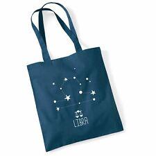 Tote Bags For Women Zodiac Libra Printed Cotton Shopper Bag Gifts