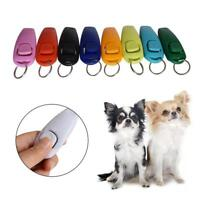 Puppy Dog Pet Cat Training Clicker  Whistle Click Trainer Black Obedience :