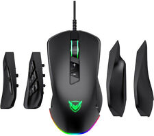 NEW Gaming Mouse Wired 24,000 DPI Optical Sensor Chroma RGB Lighting PC Gamer