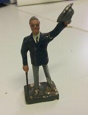durso Rare Vintage President Franklin  Roosevelt FDR Lead Figure 95 mm 0.L