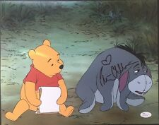 Autographed Peter Cullen signed Eeyore Winnie the Pooh 11x14 w/JSA Transformers
