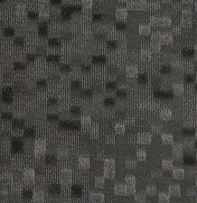 "EURO TILE FLOR Equilibrium Midnight 100% Nylon 19.7"" x 19.7"" Carpet Tile Squares"