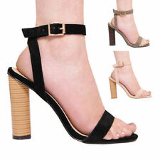 "Unbranded Women's Block Very High Heel (greater than 4.5"") Shoes"