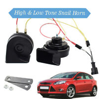 125db Loud Waterproof 410/510Hz 12V Dual Tone Snail Horn For Ford Focus MK3