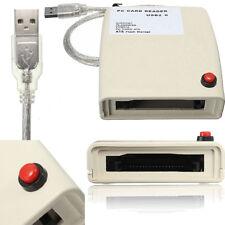 US USB 2.0 to 68 pin ATA PCMCIA Flash Disk Memory Card Reader Adapter Converter
