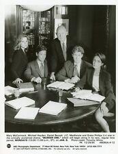 MARY MCCORMICK MICHAEL HAYDEN DANIEL BENZALI MURDER ONE CAST 1995 ABC TV PHOTO