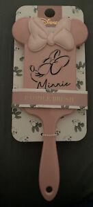 Disney Minnie Mouse Paddle Hair Brush Ladies New