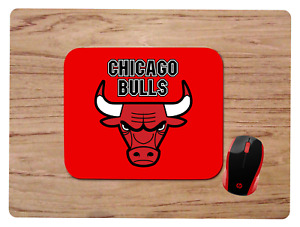 CHICAGO BULLS MOUSEPAD MOUSE PAD HOME OFFICE GIFT NBA