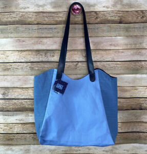 NWT Blue Tote Bag Yankee Candle Company Double Strap Shoulder Bag NEW