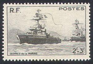 France 1946 Ships/Nautical/Navy/Naval Charities/Military/Transport 1v (n23275)