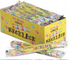 Candy Necklaces  24 ct. box Individual wrap