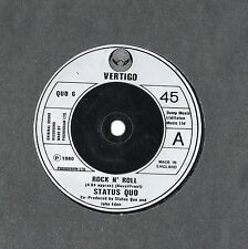 "Status Quo - Rock N Roll 7"" Single 1980"