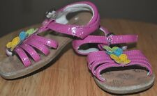 z- SHOES BABY/TODDLER SZ 5 SANDALS WONDERKIDS STRAPPY OPEN TOE W/ BACK STRAP