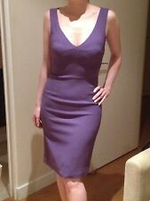 DOLCE and GABBANA stunning purple knee length, sleeveless dress New Without Tag