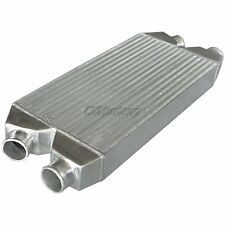 """CXRacing Twin Intercooler For Nissan 300Z Audi A4 S4 2.5"""" Inlet&outlet 30x11x3"""
