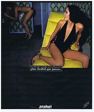 PUBLICITE ADVERTISING 054 1978 ARABEL maillots de bain et robes