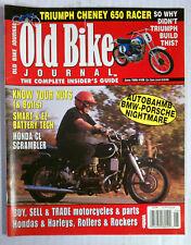 OLD BIKE JOURNAL BACK ISSUE HARLEY DIRT BIKE HONDA 1999 JUNE BMW PORSCHE MOTOR