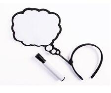 Pop Art Dry Erase Thought Bubble Headband fnt