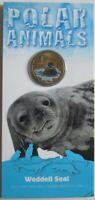 Australien 1 Dollar 2013 Tiere Weddellrobbe