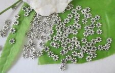 1000PCS Tibetan Silver  daisy spacer beads 4mm for jewelry making
