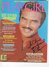 Burt Reynolds Autograph Hand Signed Playgirl Magazine Cover 1981