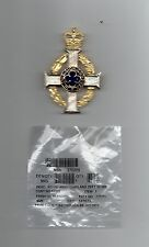 ROYAL ARMY CHAPLAINS DEPARTMENT - SUPERB SCARF  BADGE. OFFICIAL ISSUE