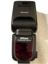 Used Nikon Sb-910 Speedlight Flash with Box & accessories Pro Ttl On Camera Unit