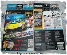 Carnet d'Esquisses Lamborghini PM Wooky Stickers Pochoirs Dessins