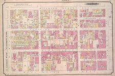1884, CHARLES E. GOAD, TORONTO, CANADA, OSBORNE HOUSE HOTEL, COPY ATLAS MAP