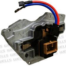 HVAC Blower Motor Resistor WVE BY NTK 4P1563