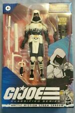 "?G.I. Joe Classified Series Arctic Mission Storm Shadow 6"" Action Figure Hasbro"
