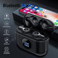 TWS Bluetooth5.0 Headset Wireless Headphone Earbuds Earphones For iPhone Samsung