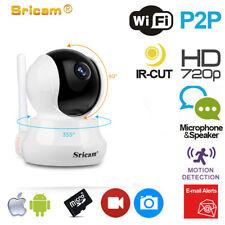 Sricam HD 720p WiFi IP Cámara CCTV video vigilancia Onvif ir nocturna seguridad