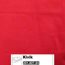 Ikea Kivik référence pour 3er canapé dans ingebo vif rouge 201.827.54