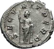 GORDIAN III 244AD Rome Authentic Ancient Silver Roman Coin Securitas i67045