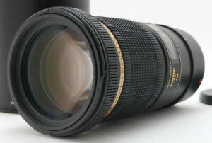 Near MINT Tamron SP 180mm f/3.5 LD SP Di IF B01w/ HOOD For Canon EF From JAPAN
