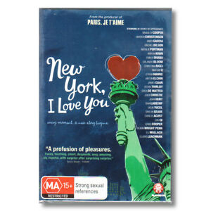 New York I Love You DVD R4 AU | NEW + Free Post