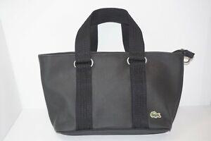 Womens Lacoste Clutch Handbag, Black