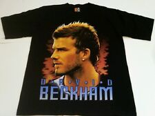 VINTAGE DAVID BECKHAM REAL MADRID SPAIN ENGLAND T SHIRT SZ MEDIUM