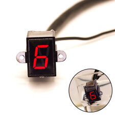 Universal LED Motorcycle Gear Indicator N-6 Speed Shift Clutch Lever Gauge Solid