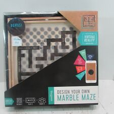 NEW - Seedling Design Your Own Marble Maze - A DIY Virtual Reality Adventure -
