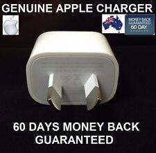 GENUINE APPLE iPhone X / 8 / 7/ 7Plus 6S SE 5S Wall Charger Adapter