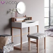 Vicco Schminktisch Linea weiß Kosmetiktisch Frisierkommode Frisiertisch Spiegel