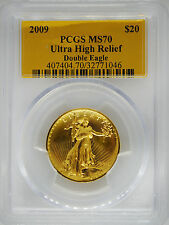 2009 PCGS MS70 Ultra High Relief Double Eagle